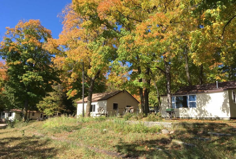 MN resorts for sale Kimp's Kamp fall season