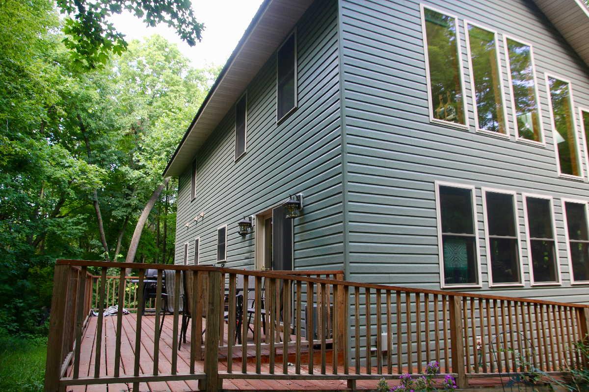 MN resorts for sale Kimp's Kamp owner's home