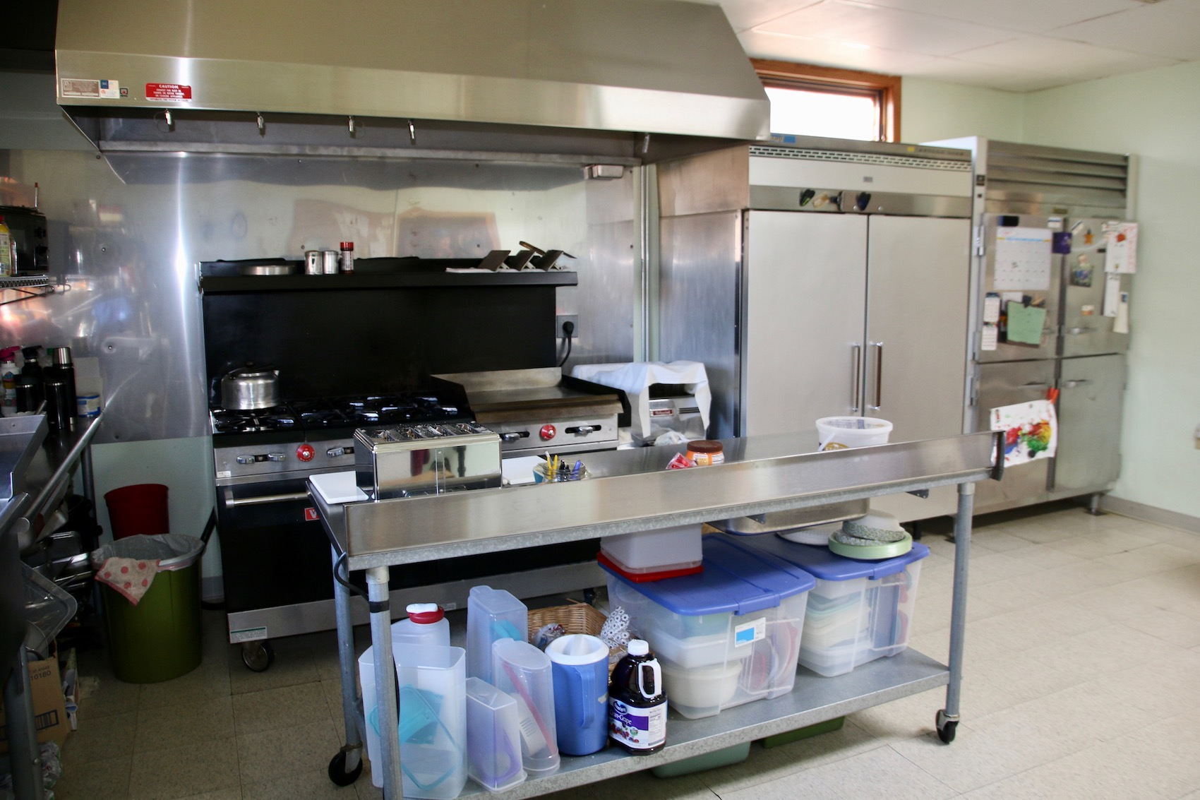 resort with campground for sale kitchen
