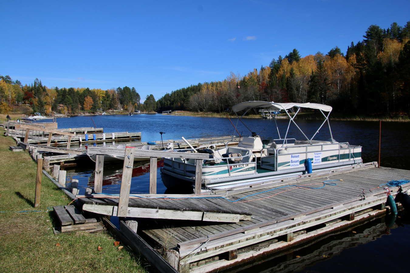 Ash River seasonal sites for sale Sunset Resort