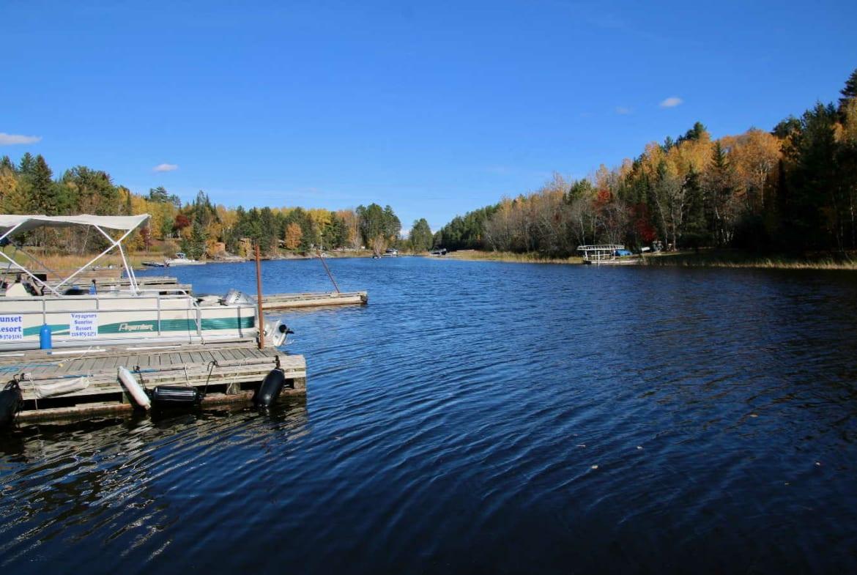 Namakan Lake resort for sale Sunset Resort