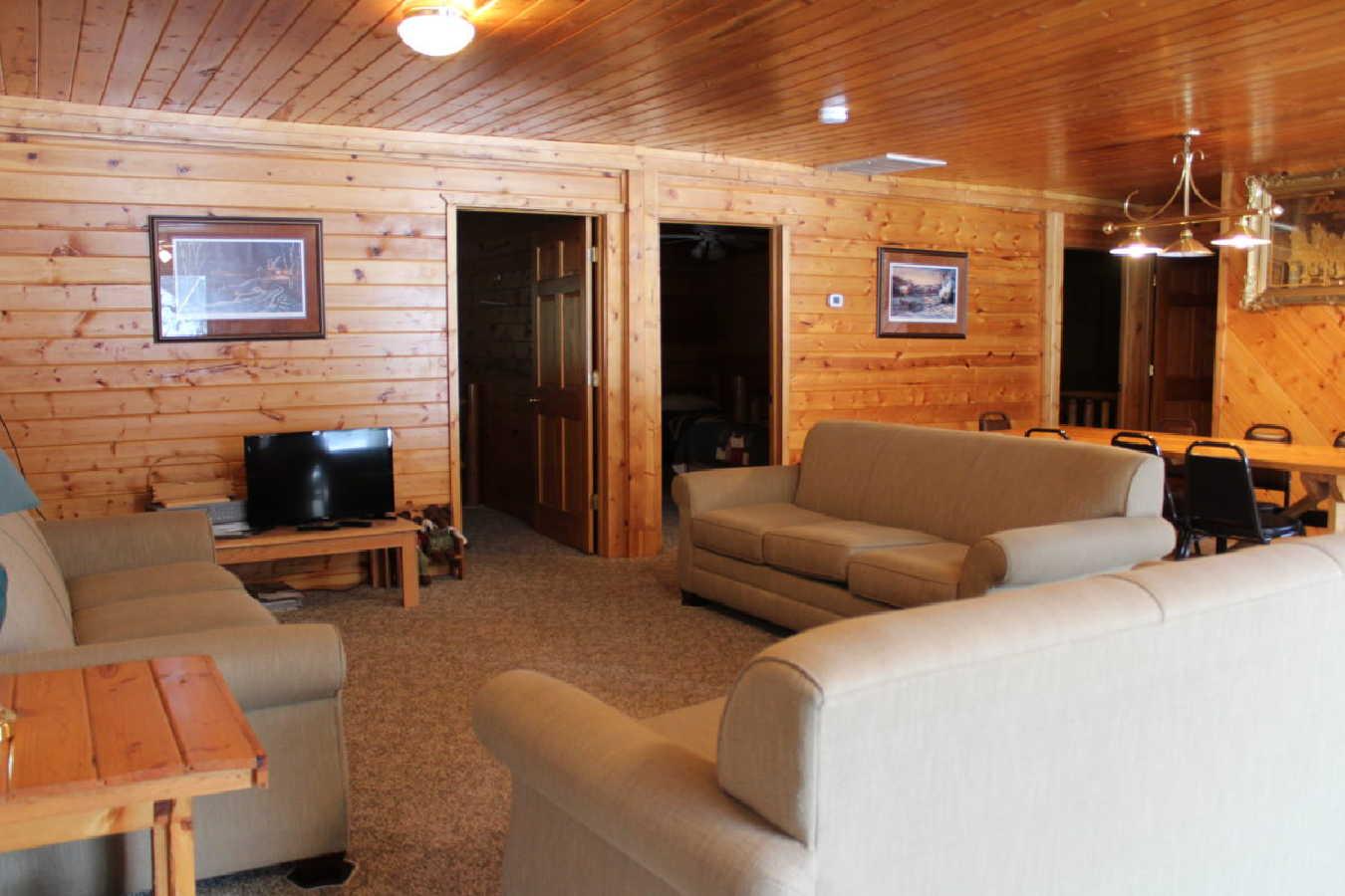 large cabin Sunset Resort for sale MN