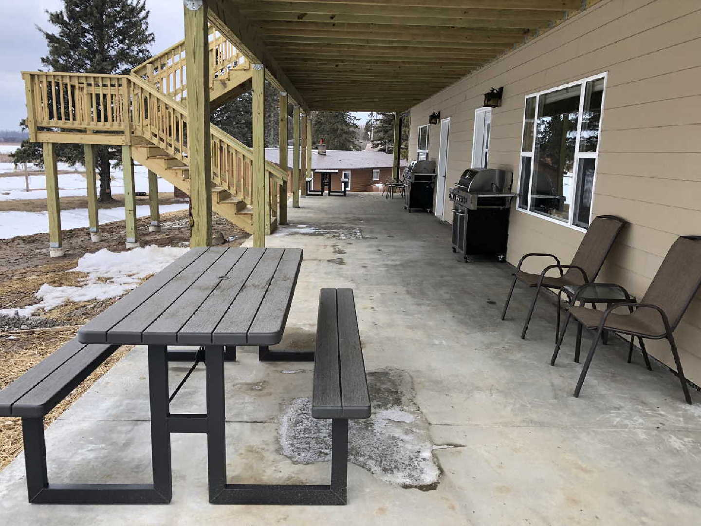 porch fishing resort for sale