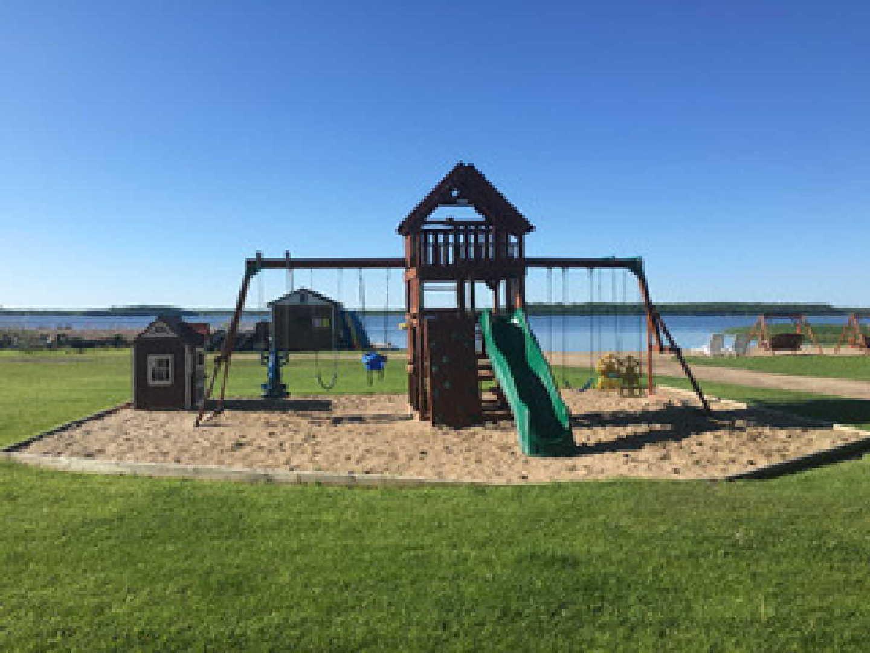 playground at Minnesota resort for sale