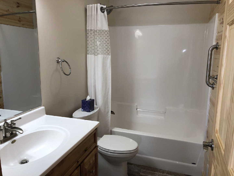bathroom at northern mn resort