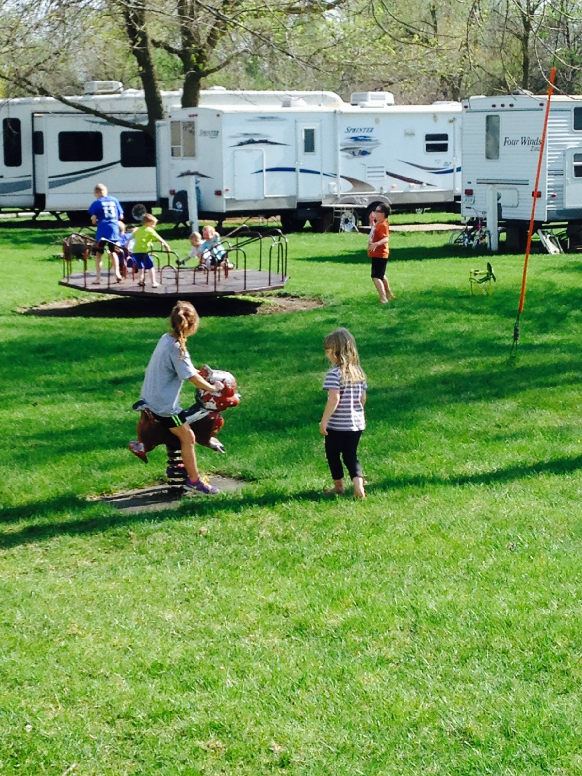 Playground at Eastside Acres Campground for sale
