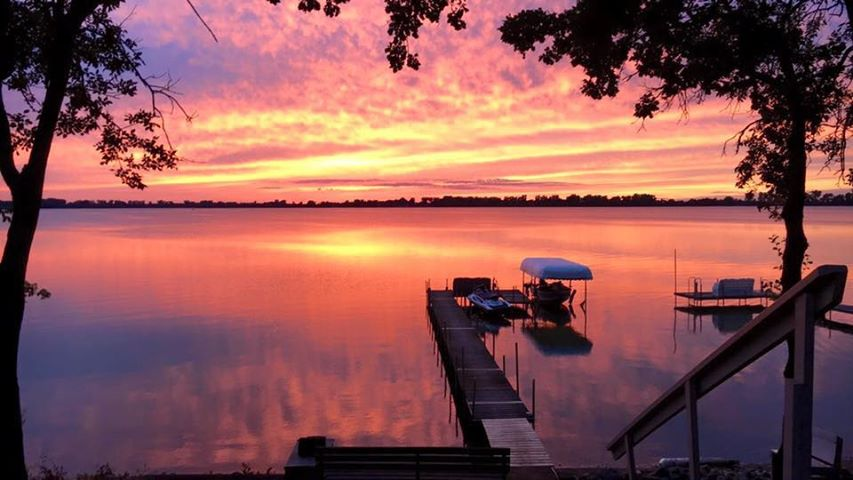 beautiful sunset at Eastside Acres for sale