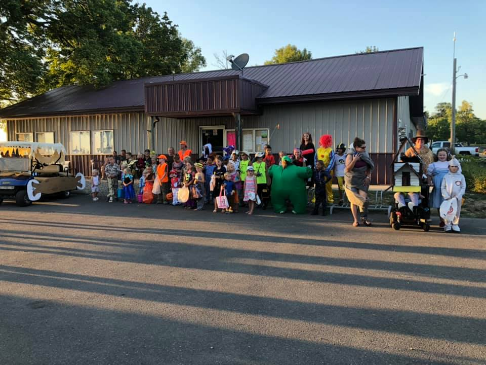 summer parade fun at MN campground for sale