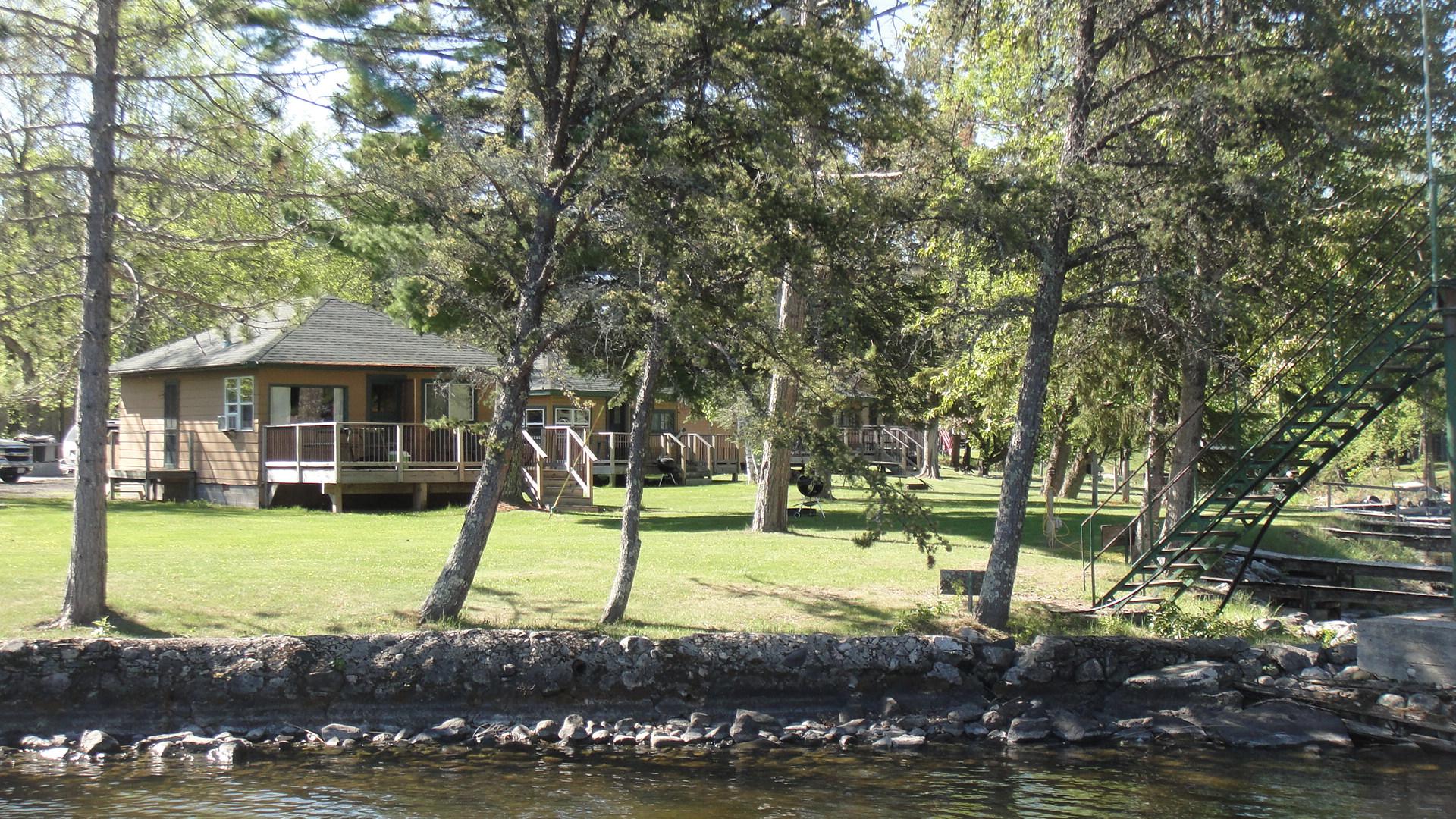 MN Resort for Sale Voyageurs Sunrise marina