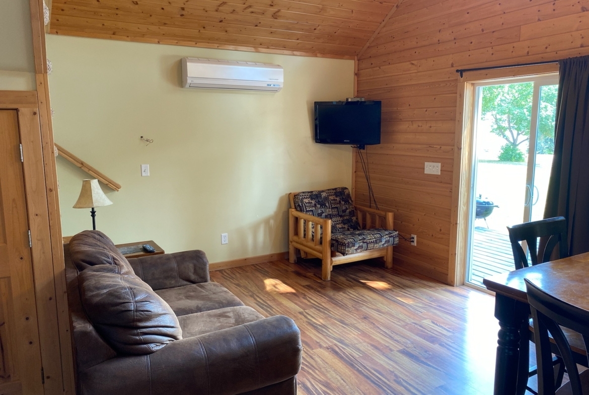 MN resort with modern cabins for sale